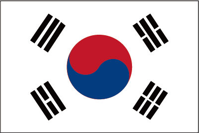 Korean Won-flag