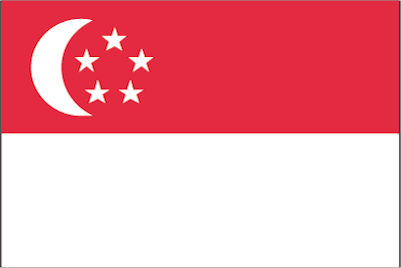 Singapur-Dollar-eine-nationalflagge